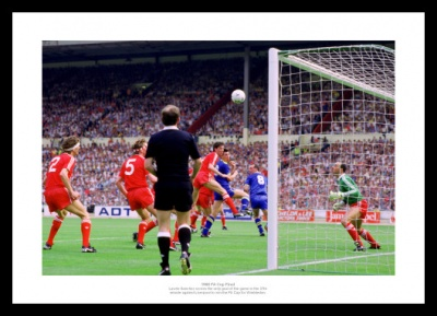 Wimbledon FC 1988 FA Cup Final Winning Goal Photo Memorabilia