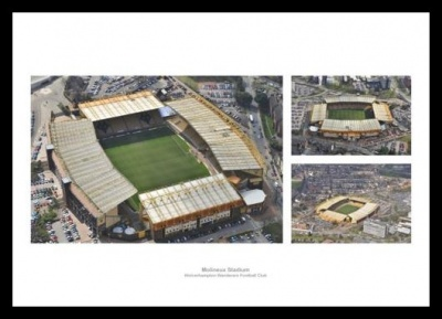 Molineux Aerial Views - Wolverhampton Wanderers Stadium Photos