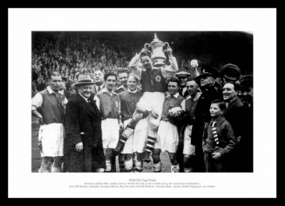 Arsenal FC 1936 FA Cup Final Team Photo Memorabilia