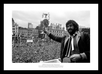 Aston Villa 1981 League Champions Street Celebrations Photo