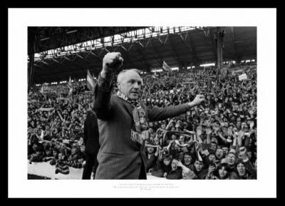Bill Shankly Liverpool FC Classic Quote Photo Memorabilia
