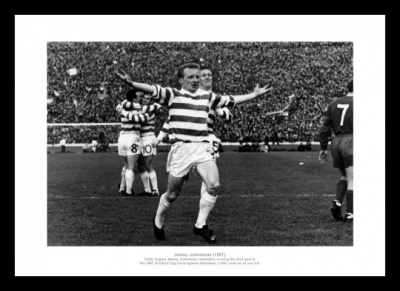 Jimmy Johnstone - Celtic FC Legend Photo Memorabilia