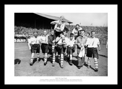 Charlton Athletic 1947 FA Cup Final Team Photo