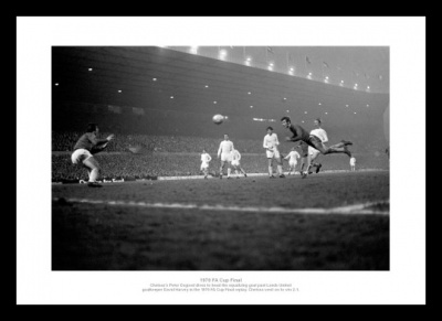 Peter Osgood Chelsea 1970 FA Cup Final Photo Memorabilia