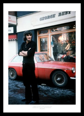 George Best 'Birds & Booze' Classic Quote Photo Memorabilia