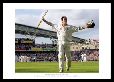 Kevin Pietersen 2005 Ashes Oval Test Match Photo Memorabilia