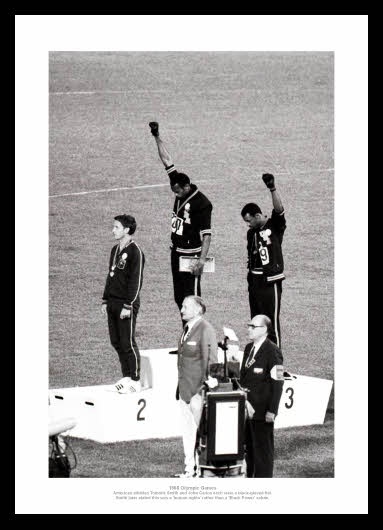 a history of the 1968 olympics The 1968 olympics human rights salute was a political demonstration conducted by african-american athletes tommie smith and john carlos during their medal ceremony on october 16, 1968 at the 1968 summer olympics.