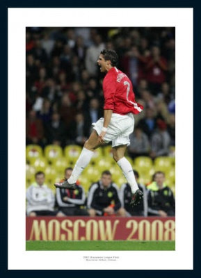 Manchester United 2008 Champions League Final Ronaldo Photo Memorabilia