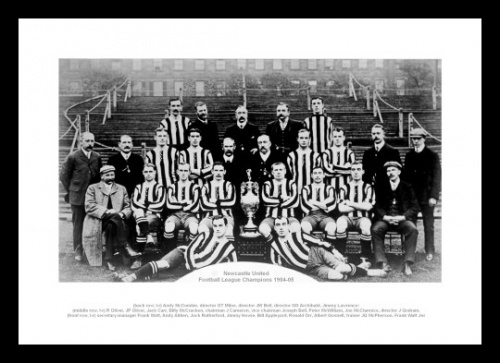 Newcastle United 1905 League Champions Team Photo
