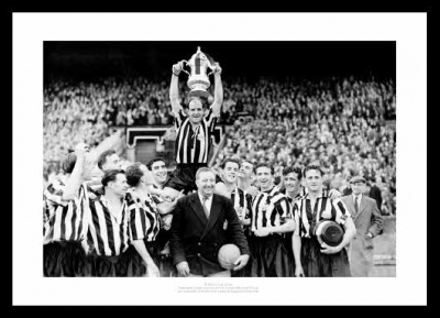 Newcastle United 1955 FA Cup Final Team Photo Memorabilia