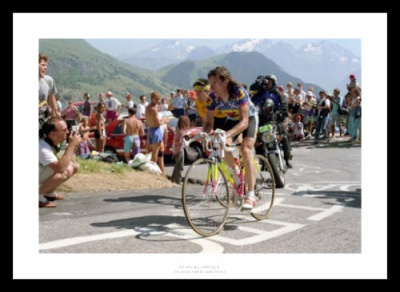 Robert Millar Tour de France Cycling Photo Memorabilia