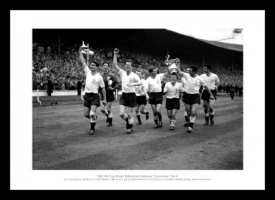Tottenham Hotspur 1961 FA Cup Final Team Photo Memorabilia