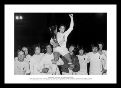 Tottenham Hotspur 1972 UEFA Cup Final Team Photo Memorabilia