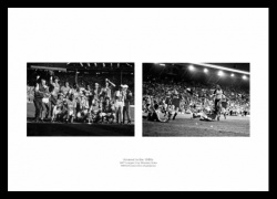 Arsenal in the 1980s Photo Memorabilia Montage