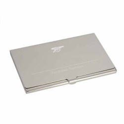 Arsenal Personalised Engraved Business Card Holder