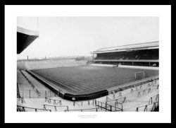 Arsenal FC Highbury Stadium 1948 Historic Photo Memorabilia
