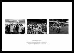 Arsenal FC in the 1970s Photo Montage