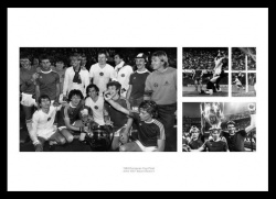 Aston Villla Memorabilia  - 1982 European Cup Final Photo Montage