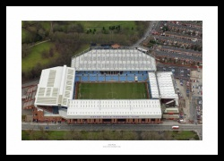 Villa Park Stadium Aerial Photo Memorabilia