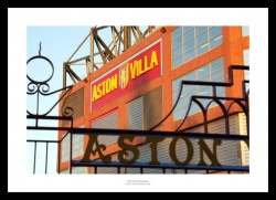 Outside Villa Park - Aston Villa Stadium Photo Memorabilia