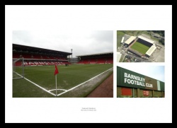 Barnsley FC Oakwell Stadium Photo Memorabilia