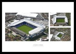 St Andrews Stadium Birmingham City Aerial Photo Memorabilia