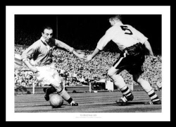 Stanley Matthews Blackpool 1953 FA Cup Final Photo Memorabilia