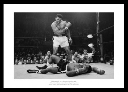 Muhammad Ali v Sonny Liston 'Greatest Sporting Photo Memorabilia