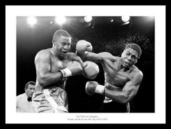 Frank Bruno 1986 World Heavyweight Title Fight Photo Memorabilia