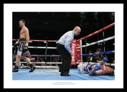 Carl Froch v George Groves 2014  Boxing Photo Memorabilia