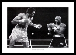 Marvin Hagler v Thomas Hearns 1985 Boxing Photo Memorabilia