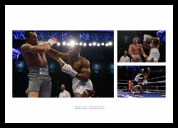 Anthony Joshua v Wladimir Klitschko 2017 Boxing Photo Memorabilia