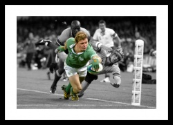 Brian O'Driscoll 2003 World Cup Spot Colour Photo Memorabilia