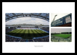 Brighton & Hove Albion Stadiums Past and Present Photo Memorabilia