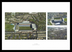 Burnley FC Turf Moor Stadium Aerial Views Photo Memorabilia