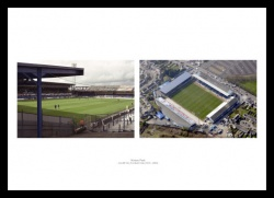 Cardiff City Ninian Park Stadium Photo Memorabilia