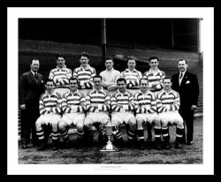 Celtic FC 1954 League Champions Team Photo Memorabilia