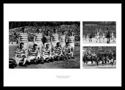 Celtic FC 1967 European Cup Final Photo Memorabilia