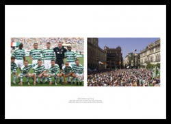 Celtic FC 2003 UEFA Cup Final Photo Memorabilia
