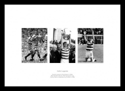 Celtic FC 3 Football Legends Photo Memorabilia
