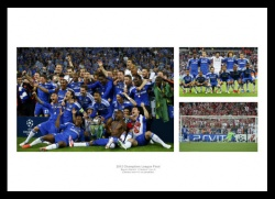 Chelsea Memorabilia  - 2012 Champions League Final Photo Montage