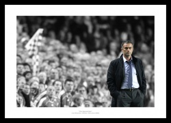 Jose Mourinho Spot Colour Chelsea FC Photo Memorabilia