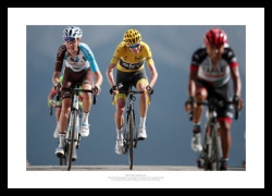 Chris Froome Col d'Izoard Summit 2017 Tour de France Photo Memorabilia