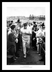 Fred Trueman 1961 Ashes Series Photo Memorabilia