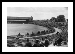 Headingley Cricket Ground 1935 Historic Photo Memorabilia