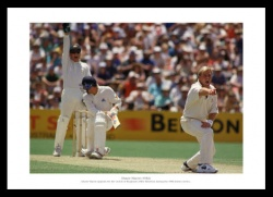 Shane Warne Australian Cricket Legend Photo Memorabilia