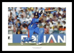 Sachin Tendulkar 2011 World Cup India Cricket Photo Memorabilia