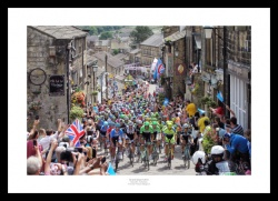 2014 Tour de France Yorkshire Grand Depart Photo Memorabilia