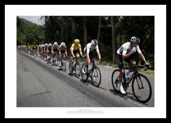 Geraint Thomas & Team Sky 2018 Tour de France Photo Memorabilia