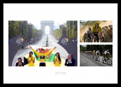 Geraint Thomas 2018 Tour de France Victory Photo Memorabilia